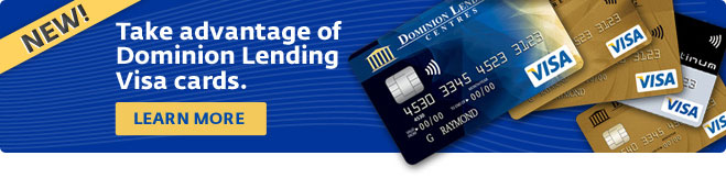 Dominion Lending VISA Card