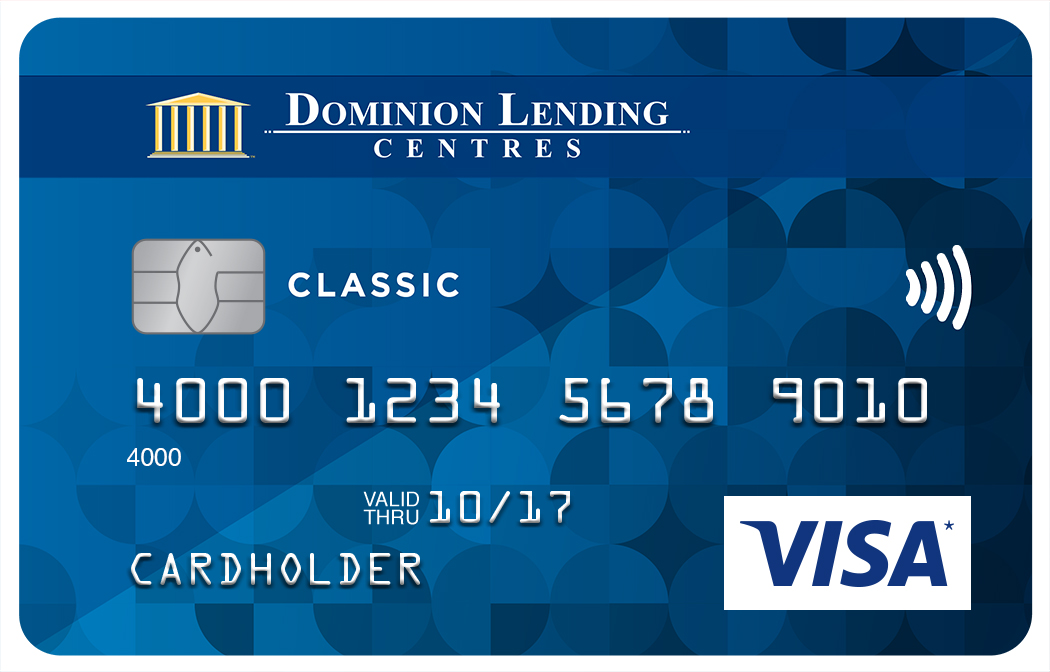 Dominion Lending Centres Collabria Visa* Classic Card