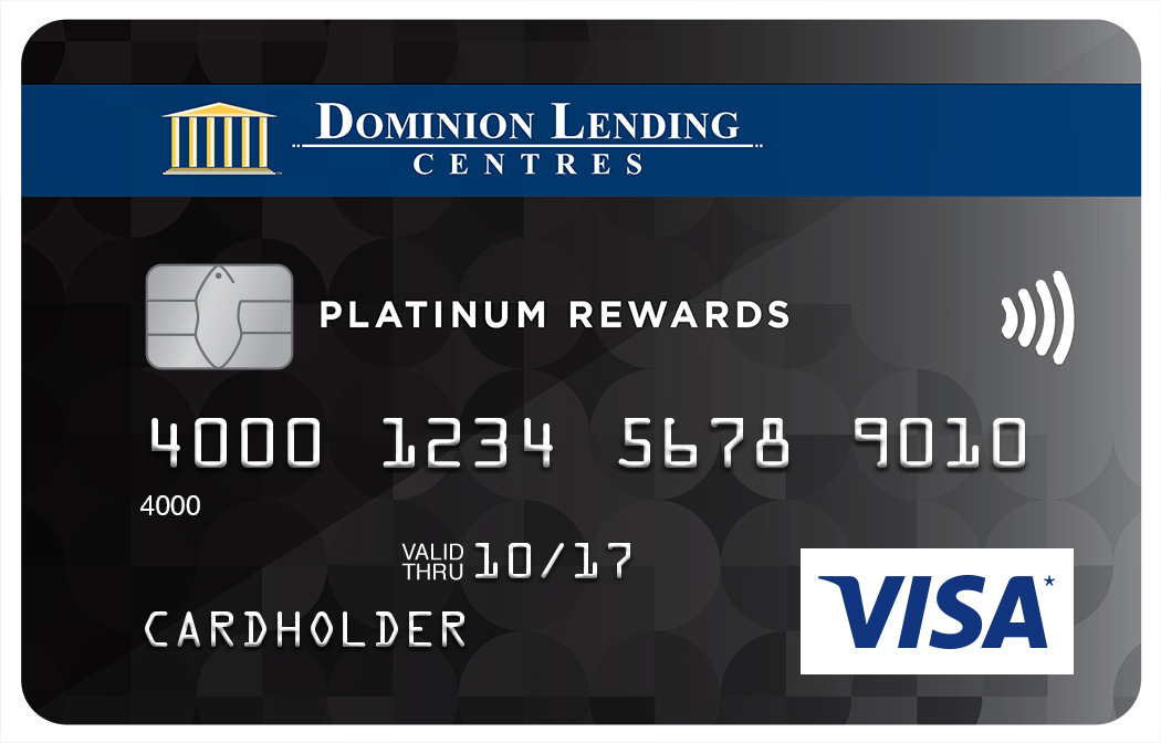 Dominion Lending Centres Collabria Visa* Platinum Rewards Card